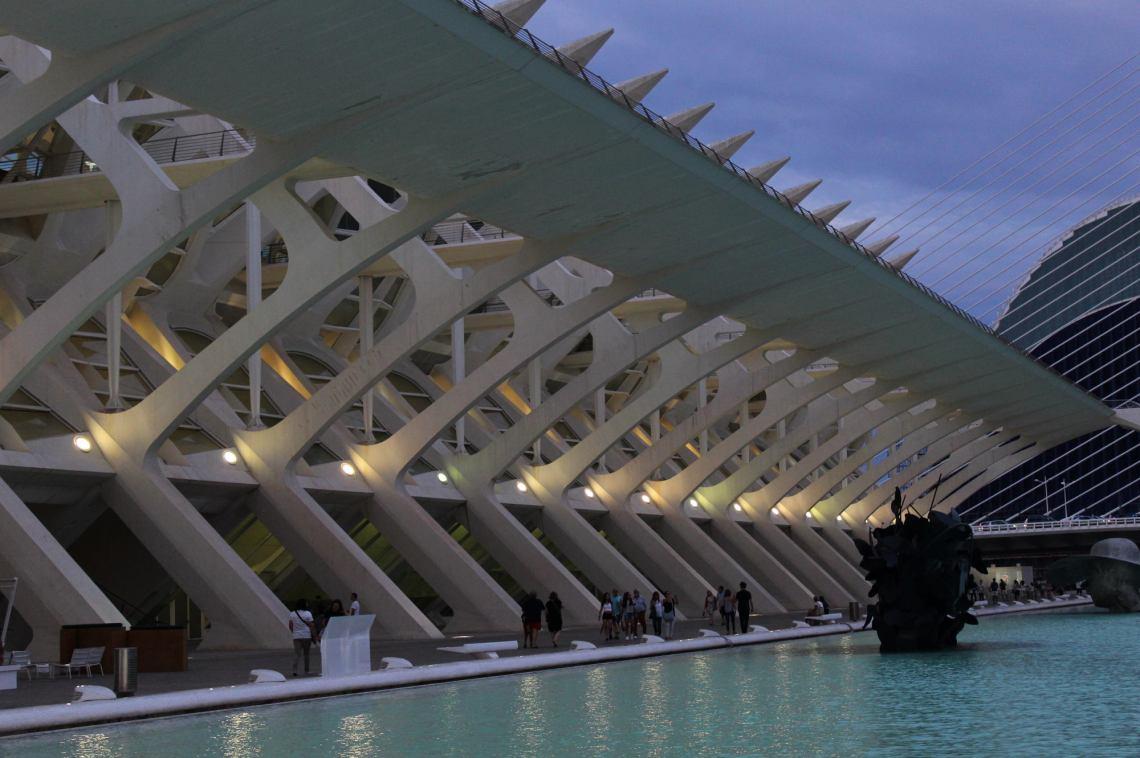 Cuatro Valencias en una: gótica, barroca, modernista y