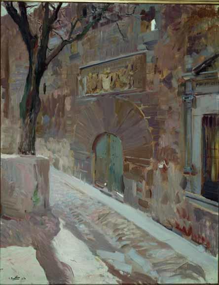 PALACIOS DE LOS DAVILA AVILA 1910 MUSEO SOROLLA