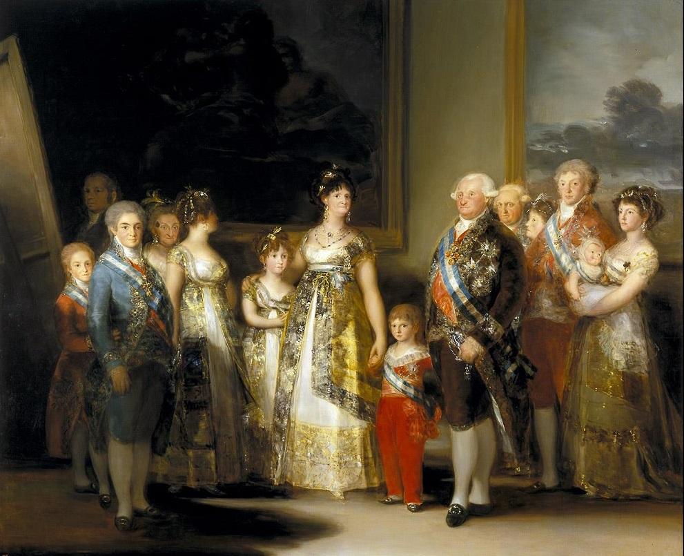 GOYA - FAMILIA CARLOS IV