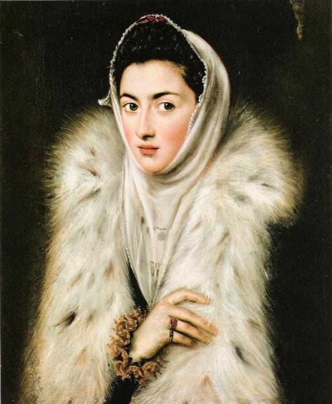 Greco dama armiño