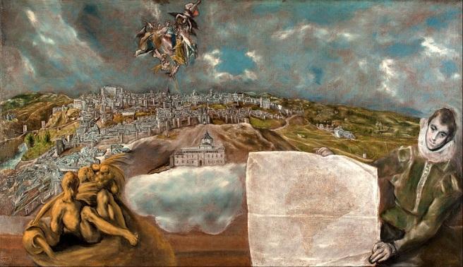 Plano y vista Toledo