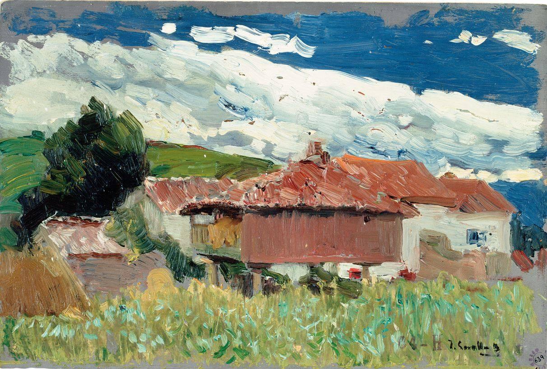 Caserío de Asturias 1902-1904 MUSEO SOROLLA