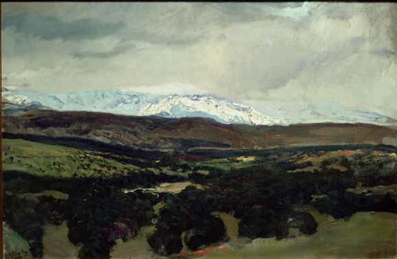 El Guadarrama desde la angorilla 1906-1907 MUSEO SOROLLA