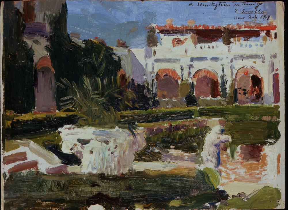 JARDÍN BOCETO 1909 SEVILLA _ HSA