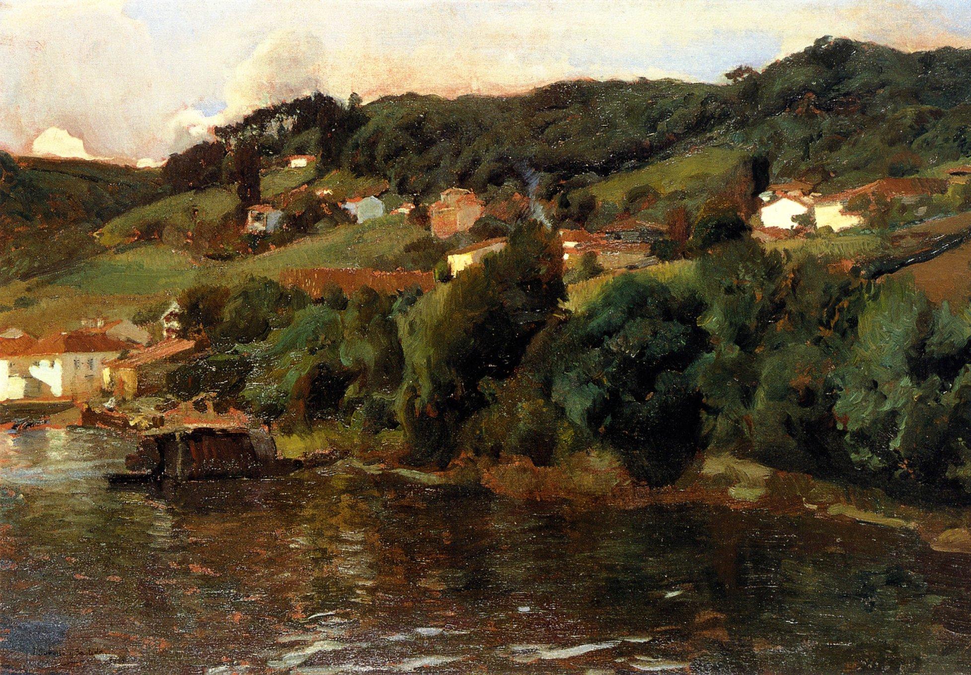Paisaje asturiano, 1903 mUSEO BROOKLYN