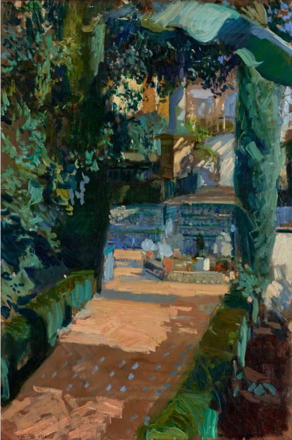 Patio de las Danzas, Alcázar de Sevilla, 1910 GETTY MUSEUM