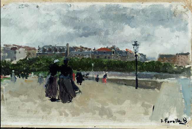 SAN SEBASTIAN 1900 MUSEO SOROLLA