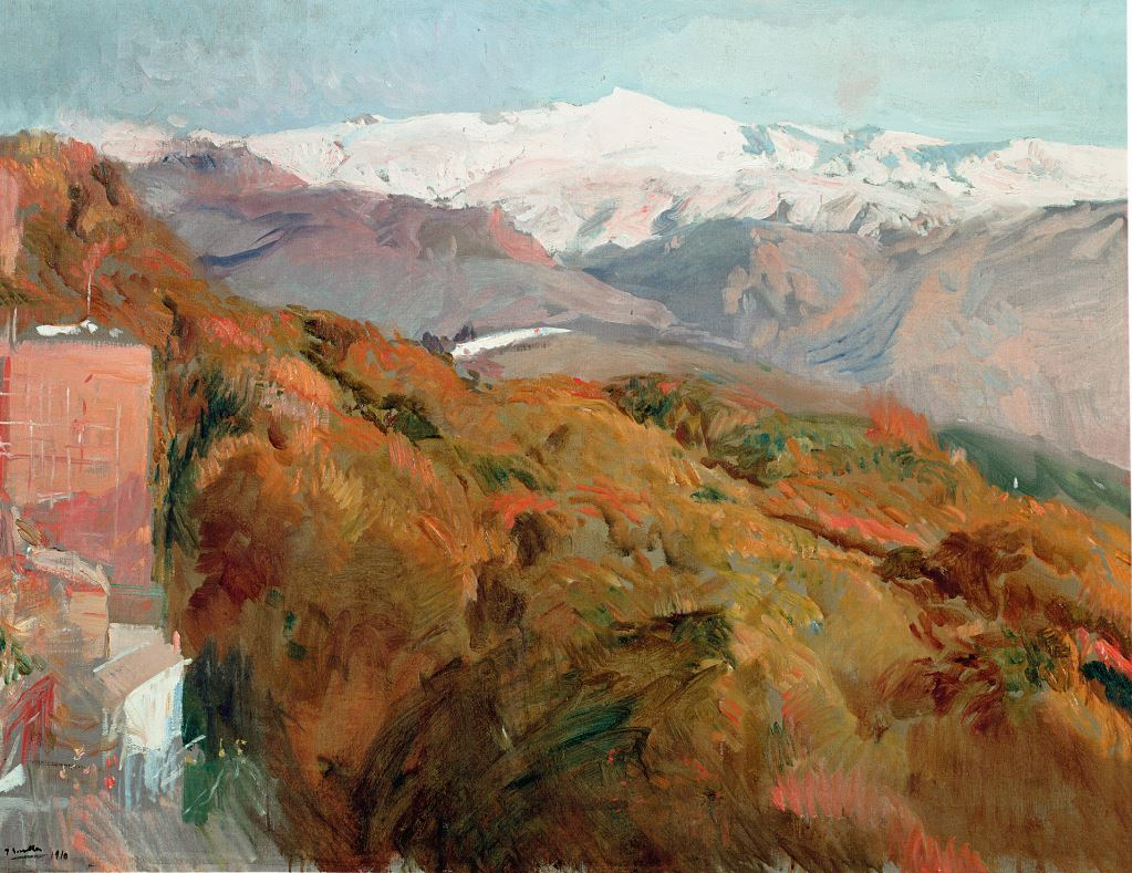 Sierra Nevada en otoño Granada, 1909 MUSEO SOROLLA