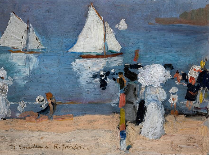 SOL Y MAR 1912 MUSEO DE SAN TELMO