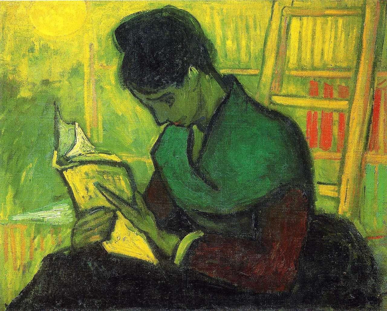 THE NOVEL READER_1888_VAN GOGH