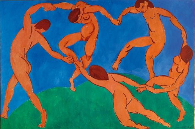 HENRI MATISSE - 1910 - La danza - Museo del Hermitage