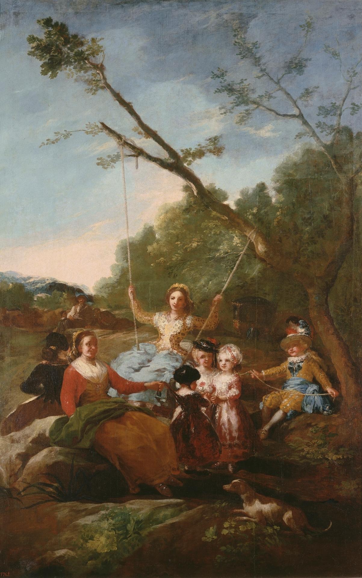 El columpio_Francisco de Goya