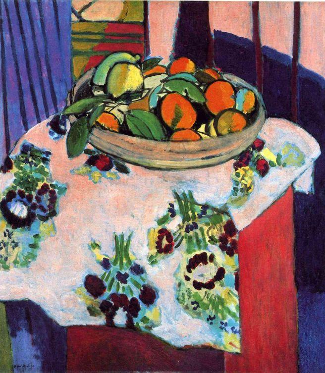 HENRI MATISSE - 1912 - Bodegón con naranjas - Museo Picasso París