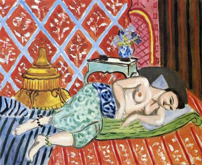 HENRI MATISSE - 1927 - A Nude Lying on her Back