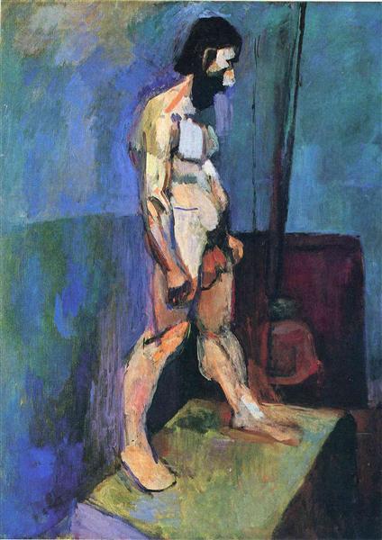 HENRI MATISSE - 1900 - Male model - MOMA