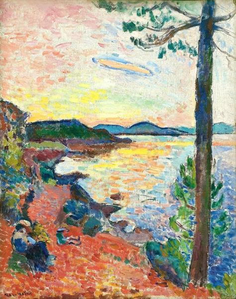 HENRI MATISSE - 1904 - The Gulf of Saint Tropez