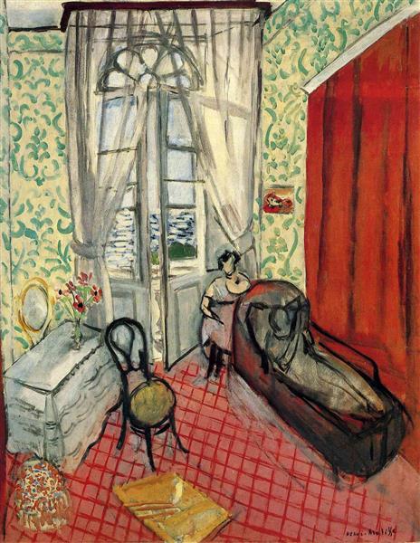 HENRI MATISSE - 1921 - El divan