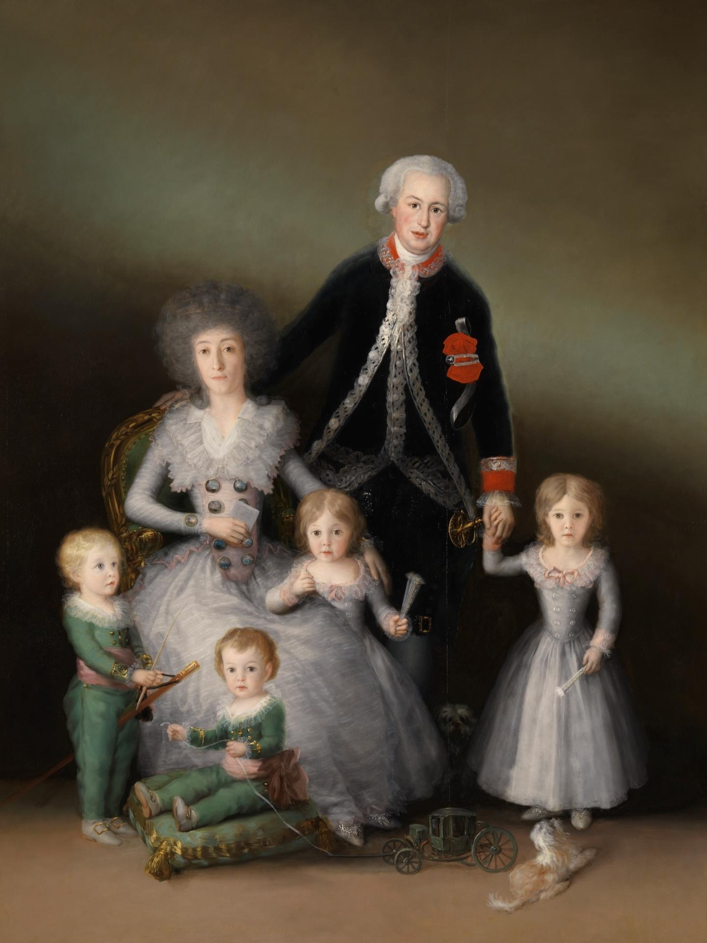 Los-duques-de-Osuna-y-sus-hijos