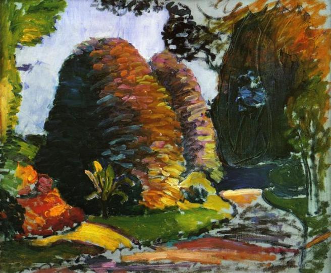 HENRI MATISSE - 1902 1903 - Jardines de Luxemburgo