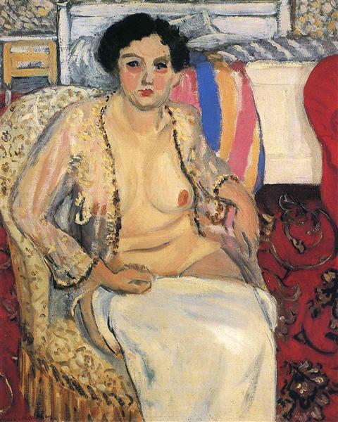 HENRI MATISSE - 1920 - Desnudo