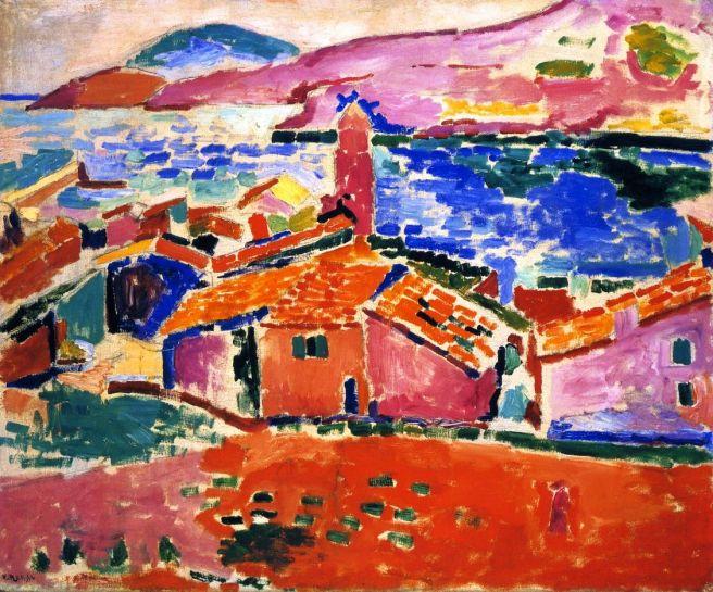 HENRI MATISSE - 1905 - Vista de Collioure - Museo del Hermitage