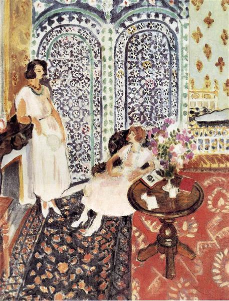 HENRI MATISSE - 1921 - Moorish screen - Museo de Arte de Filadelfia