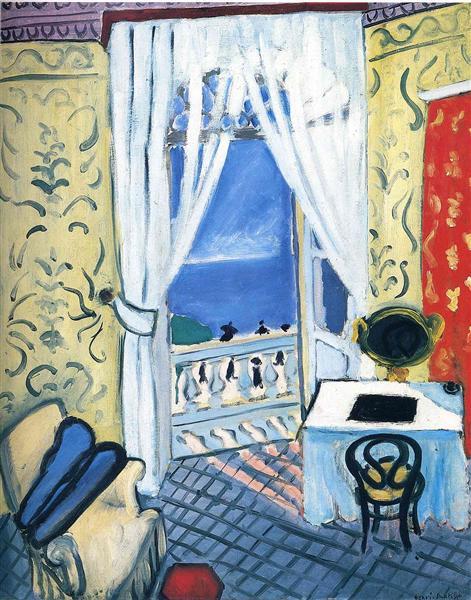 HENRI MATISSE - 1919 - Interior con funda de violín