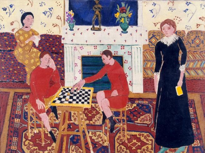 HENRI MATISSE - 1911 - La familia del pintor - Museo del Hermitage