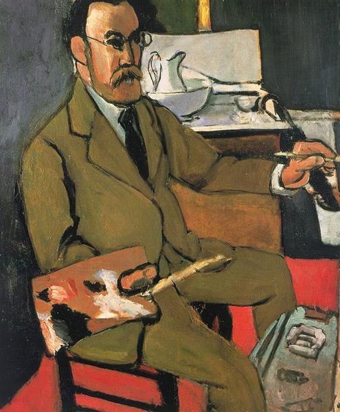 HENRI MATISSE - 1918 - Autorretrato - Matisse Museum