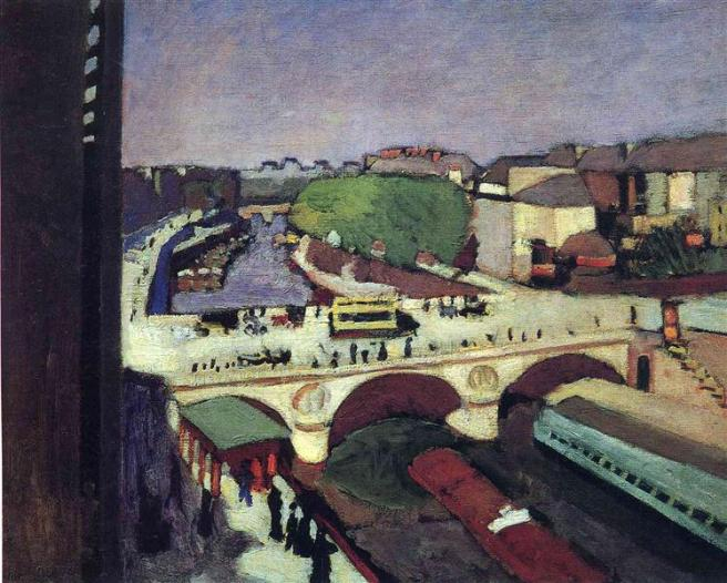 HENRI MATISSE - 1900 - El puente Saint Michel