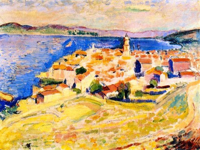 HENRI MATISSE - 1904 - Vista de Saint Tropez