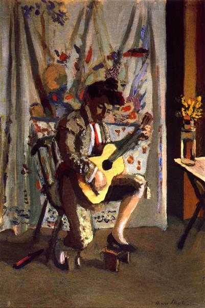 HENRI MATISSE - 1903 - Guitarrista