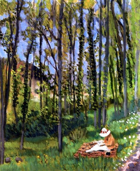 HENRI MATISSE - 1922 - In the woods