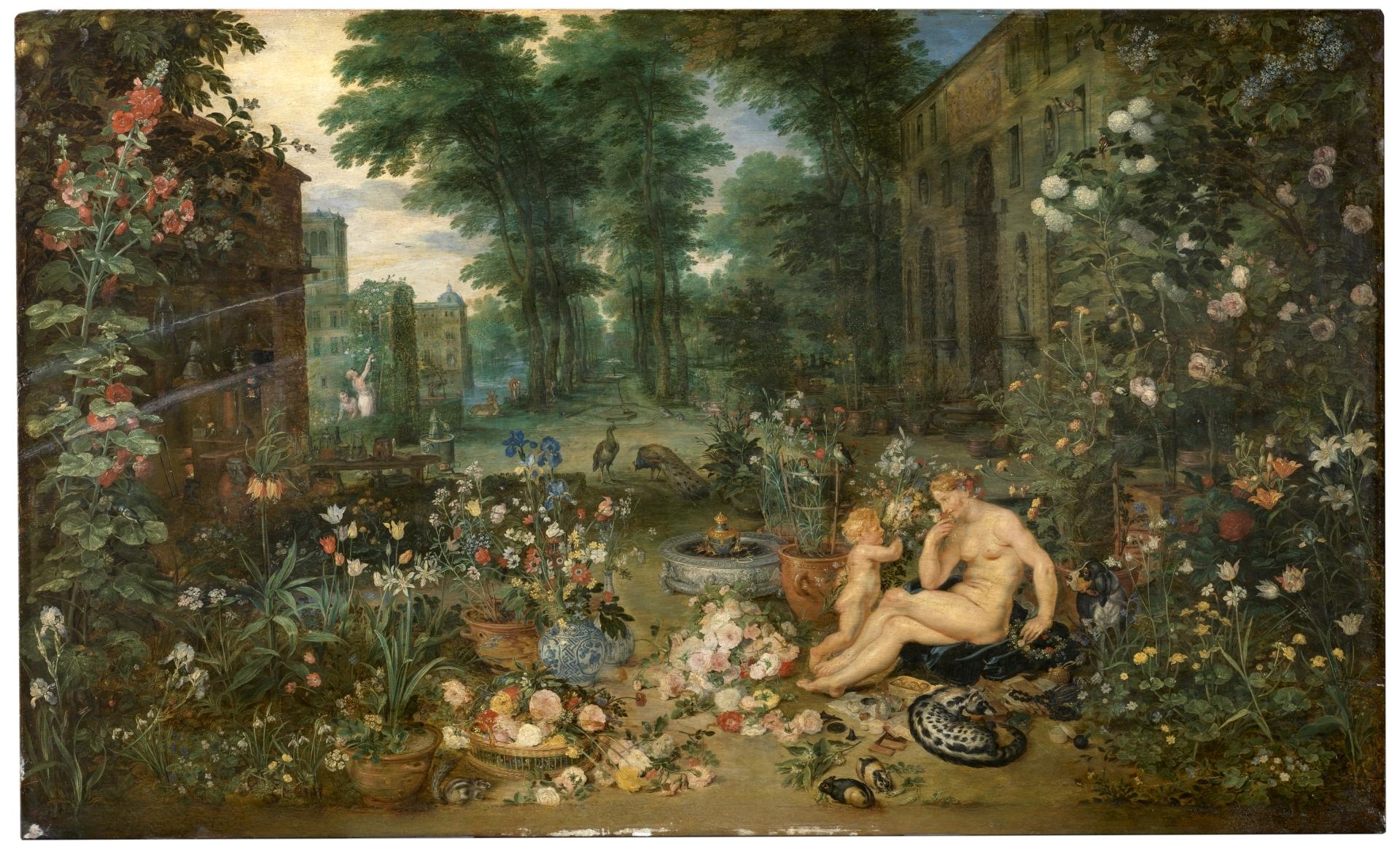 El Olfato_Brueghel y Rubens