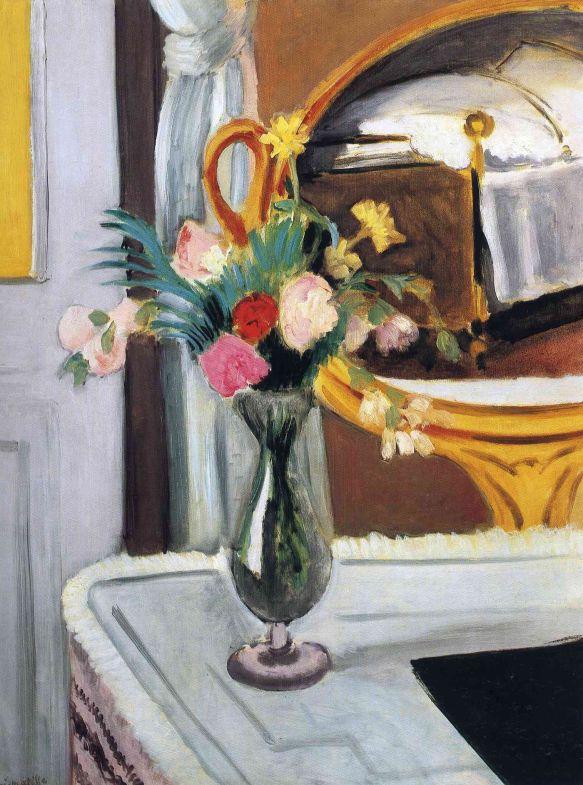 HENRI MATISSE - 1919 - La cama en el espejo