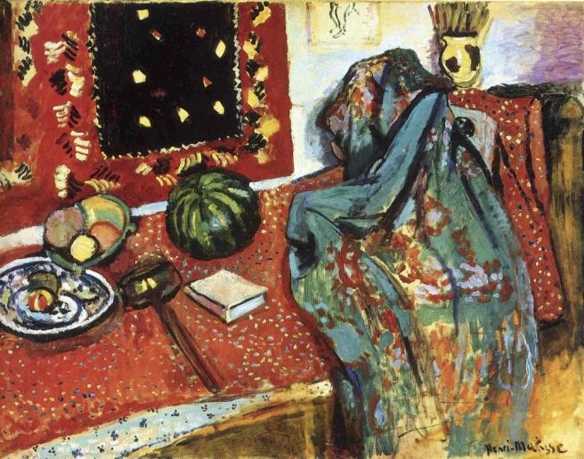 HENRI MATISSE - 1906 - Alfombras rojas - Museo de Grenoble i