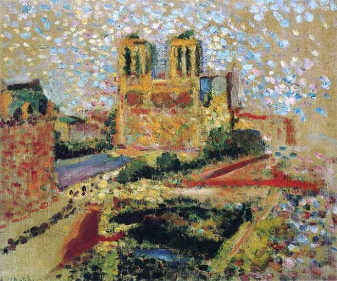 HENRI MATISSE - 1904 - Notre Dame ii